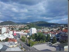 Suhl - Blick aufs Stadtzentrum