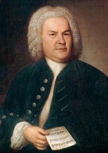 Porträt von Johann Sebastian Bach